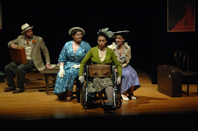 Lady with a Hatbox Trio