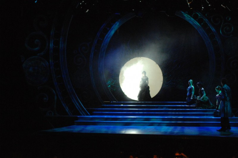 Queen of the Night's Entrance