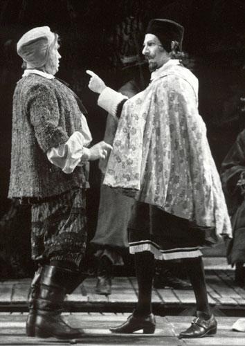 Falstaff - Dr. Caius (right)
