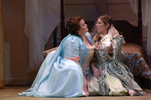 Countess and Cherubino